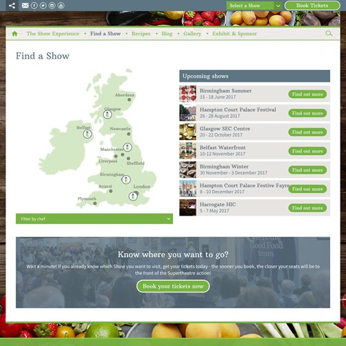 BBC Good Food Shows hover image