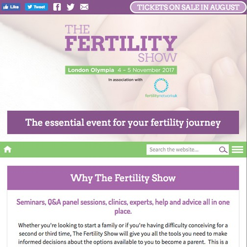 The Fertility Show hover image