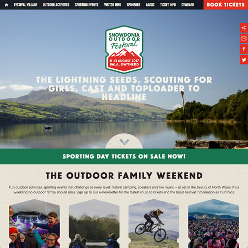 Snowdonia Outdoor Festival hover image